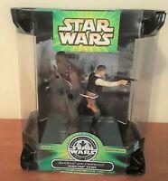 Hasbro 25th Anniversary Han Solo Chewbacca Death Star Escape Action Figure