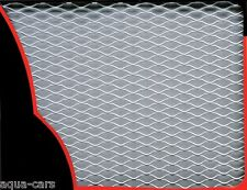Grille Aluminium Carrosserie Couleur Argent 33 X 100 cm