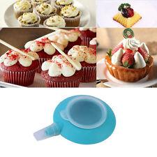 Silicone Macaron Mold Pot Baking Decorating Pen Pastry Cream Cake Nozzle Tool TY