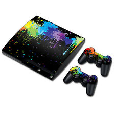TN0500*Skin Sticker Vinyl Decal Cover For PS3 PlayStation 3 Slim+2 Controllers