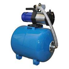 Wasserpumpe 1100W 90 L/MIN 24L Druckbehälter Gartenpumpe Hauswasserwerk Set