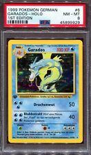PSA 8 Pokemon German Deutsch 1st Edition Base Garados Gyarados #6