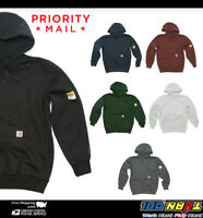 Men Carhartt 100615 Rain Defender Paxton Heavyweight Hooded Pullover Sweatshirt