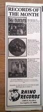 RUNAWAYS Little Lost Girls  magazine ADVERT / Poster 11x4 inches