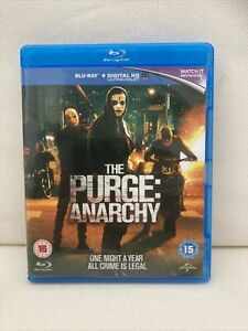 The Purge - Anarchy (Blu-ray, 2014) Pre Owned