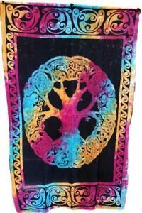 "Mandala Tree of Life 54"" x 86"" Tapestry/Wall Hanging"