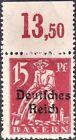 DR, Infla, Mi.Nr. 121 X OR III postfrisch geprüft INFLA Berlin echt einwandfrei