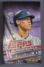 2017 Topps Update Baseball sealed Hobby box 36 packs of 10 cards