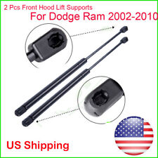 2Pcs Hood Lift Supports Front Shock Strut Arm Rod Prop For Dodge Ram 1500 2500