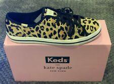 ** KEDS x KATE SPADE KICKSTART LEOPARD SHOES size 5.5, NEW IN BOX - £95 VALUE **