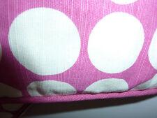 HOUSE OF FRASER Pink Polka Dot Lounge Cushion NWT
