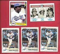PEDRO GUERRERO 14 CARD LOT 1979 TOPPS #719 RC MLB BASEBALL LOS ANGELES DODGERS