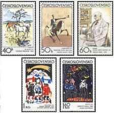 Timbres Arts Tableaux Tchécoslovaquie 1904/8 ** lot 24095