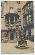AK Frankfurt a.M. - Wendeltreppe und Herkulesbrunnen im Römerhof (E682)