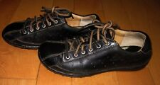 Born Womens Black Leather Oxford Shoes 6.5