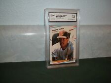 ROBERTO ALOMAR 1988 FLEER UPDATE ROOKIE GEM MINT 10 Padres HOF