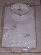MENS JACQUES BRITT CITY LONG SLEEVE SHIRT WHITE SIZE 16 1/2 42 NWT EXTRA LONG