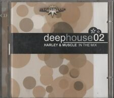 DEEP HOUSE 02 HARLEY MUSCLE IN THE MIX DEEPHOUSE DOPPIO CD 2001