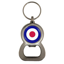 RAF Roundel Bottle Opener Keyring Royal Air Force aircraft mark MOD logo BNIB