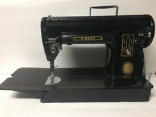 Vintage Black Singer 301 A Slant Sewing Machine Heavy Duty Industrial Long Bed