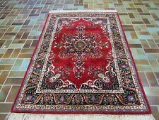 Feiner Handgeknüpfter Perser Orientteppich Blumen Nain GHOM Carpet Rug 194x125cm