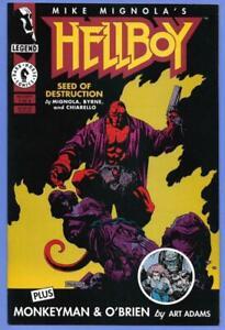 Dark Horse Comic Hellboy Seed of Destruction #1 1994 Mignola/Byrne VF-NM !!^s2