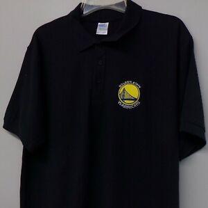 Golden State Warriors NBA Basketball Embroidered Mens Polo XS-6XL, LT-4XLT New