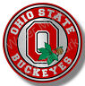 Ohio State Buckeyes Big 10 College Football Sticker / Decal Stainless Steel Look