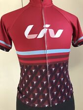 Liv Cycling Jersey Women's Trans Textura Shirt Size Medium LIV BELIEVE