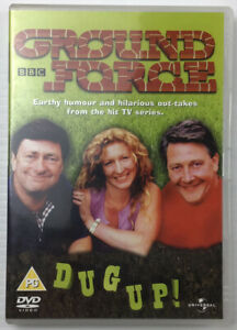 Ground Force Dug Up DVD Comedy Reality Tv Series British Gardening BBC Reg 4