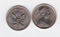 1978 Australia 5 Five Cent Coin  Nice grade I-590