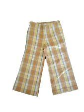 New Oilily Plaid Cotton Boys Girls Vintage Pants 104 (Us 4-5)
