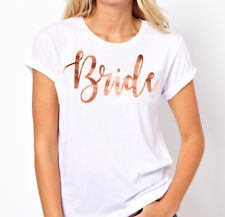 Hens Night Party Iron On Transfer ROSE GOLD - BRIDE