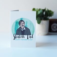 Shalom Dad, Jim Friday Night Dinner Funny Father's Day Card