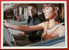 JAMES BOND - Quantum of Solace - Card #016 - A Man On A Motorcycle