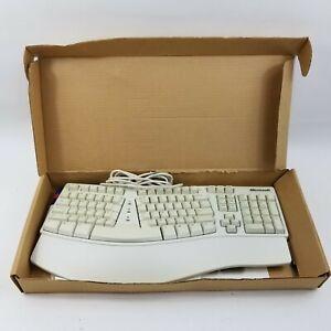 Vintage Microsoft Natural Keyboard Elite X03-51763 (PS2 Wired) X03-51764