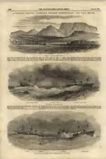 1855 TELEGRAFO ELETTRICO sottomarino fra Terranova e Cape Breton