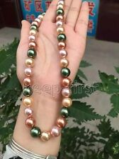 """New 10mm Genuine Natural Mother Of South Ocean Shell Pearl Loose Beads 15"""" AAA"""