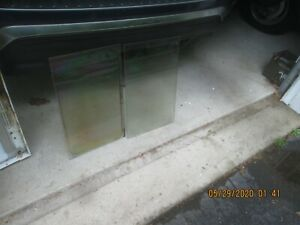 GE Double Oven JTP56WA5WW Door Parts, Thermal Insulated glass, handle