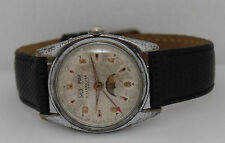 Vintage Villereuse Automatic Day-Date Moon Phase 35mm Circa 1950s  Watch