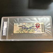 Sammy Sosa 500th Home Run Signed Ticket April 4, 2003 PSA DNA COA Auto