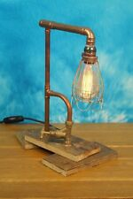 Industrial Vintage Retro dimmable table lamp with Edison bulb