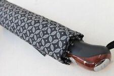 Pierre Cardin Regenschirm Automatik   schwarz grau Taschenschirm Herren 8488807