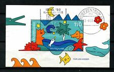 Germany 1998 SG#MS2843 For Us Children Used M/S #A25232