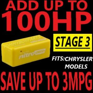 #1 Tuner Performance Chip CHRYSLER VEHICLES SAVE GAS ADD POWER **REAL GAINS**