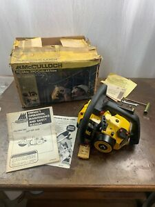 NOS VINTAGE RARE COLLECTIBLE MCCULLOCH PRO MAC 390 CUTS ALL SAW NEW OLD STOCK