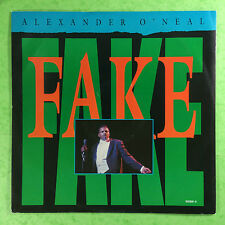 Alexander O'Neal - Fake (Extended Version) Tabu 650891-6 Ex Condition A1/B1