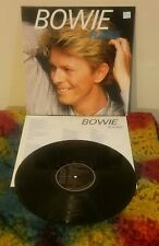 Bowie~Rare~1983 Original German Import~Clean copy~Inner~