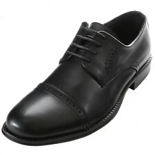 Alpine Swiss Arve Mens Genuine Leather Oxford Dress Shoes Lace Up Brogue Cap Toe