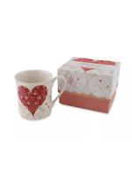 Turnowsky China mug heart design boxed gift Christmas valentine present novelty